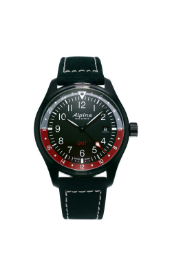 Alpina Pilot Quartz GMT Watch AL-247BR4FBS6 product image