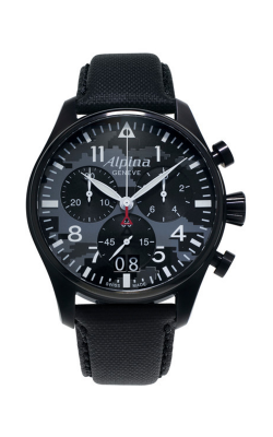 Alpina Pilot Quartz Chronograph Watch AL-372BMLY4FBS6 product image