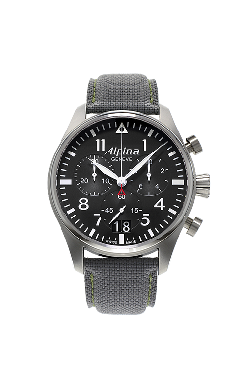 Alpina Pilot Quartz Chronograph Watch AL-372B4S6 product image