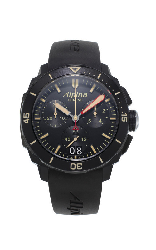 Alpina Pilot Quartz Chronograph Watch AL-372LBBG4FBV6 product image