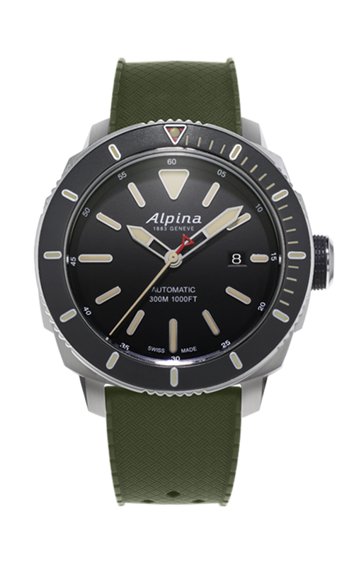 Alpina Diver 300 Automatic Watch AL-525LGG4V6 product image