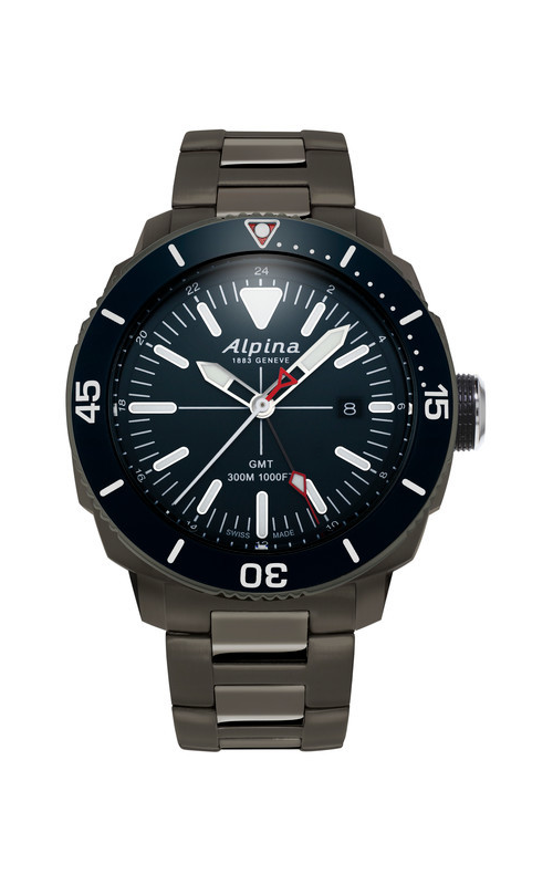 Alpina Driver Quartz GMT Watch AL-247LNN4TV6B product image