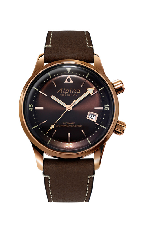 Alpina Diver Heritage Watch AL-525BR4H4 product image