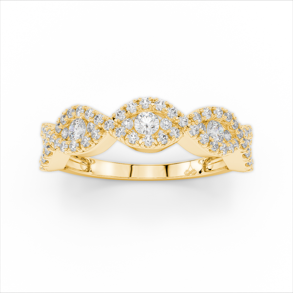 Amden Jewelry Glamour Collection Wedding band AJ-R6400 product image