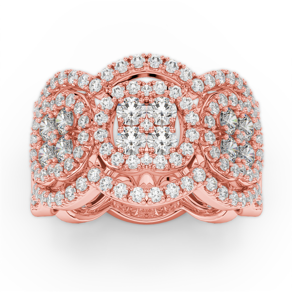 Amden Jewelry Glamour Collection Fashion ring AJ-R9025-3