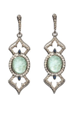 Armenta Oval Open Cross Earrings 05192 product image