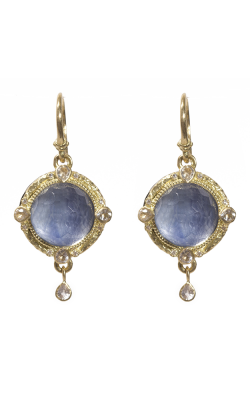 Armenta Round Drop Earrings With Kyanite Doublet 07146 product image