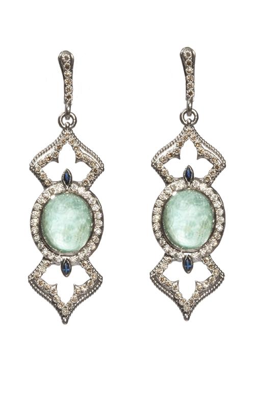 Armenta Oval Open Cross Earrings 05192 product image