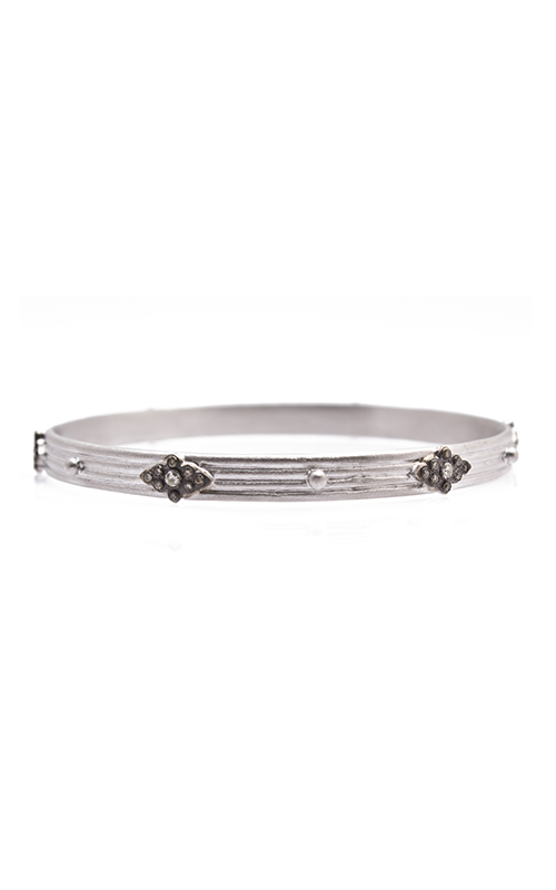 Armenta Wide Bangle Bracelet with Scroll Stations 08719 product image