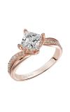 Artcarved STELLA Engagement Ring Rose Gold 31-V304FCR-E