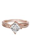 Artcarved STELLA Engagement Ring Rose Gold 31-V304FCR-E