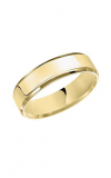 Artcarved 6MM CF FLAT WEDDING RING 01-FBIR060-G