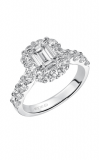 Artcarved WYNONA Engagement Ring White Gold 31-V332EEW-E