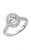 Artcarved WYNONA Engagement Ring White Gold 31-V332EVW-E