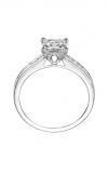 Artcarved GERALDINE Engagement Ring White Gold 31-V412ECW-E
