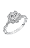 Artcarved SABINA Halo Engagement Ring 31-V567ERW-E