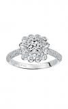 Artcarved IDALIS Halo Engagement Ring 31-V539EUW-E