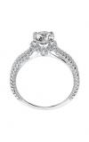 Artcarved SERINA Halo Engagement Ring 31-V546ERW-E