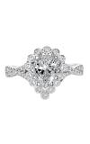 Artcarved GENEVIEVE Halo Engagement Ring 31-V562EPW-E