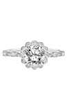 Artcarved PIA Vintage Engagement Ring 31-V563ERW-E