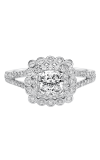 Artcarved CIANA Halo Engagement Ring 31-V564EUW-E