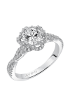 Artcarved MONIQUE Halo Engagement Ring 31-V566ERW-E