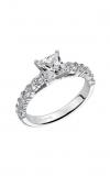 Artcarved Natalie Dia Eng Ring Wht Gold Engagement Ring 31-V240ECW-E