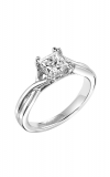 Artcarved Solitude Diamond Engagement Ring Engagement Ring 31-V153ECW-E