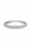 Artcarved Diamond Band White Gold-A Ladies Wedding Band 33-V9130W-L