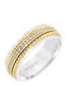 Artcarved Men's Diamond Wedding Band 22-V8730WY7-G