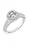Artcarved Vintage Engagement Ring 31-V763ERW-E