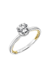 Artcarved Aileen Lyric Engagement Ring 31-V915ERWY-E