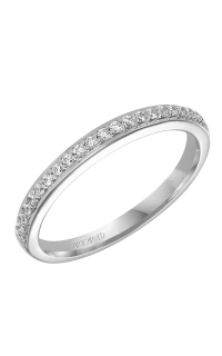 ArtCarved Contemporary Wedding Band 31-V303W-L product image