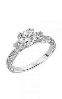 ArtCarved Vintage Engagement Ring 31-V433ERW-E product image