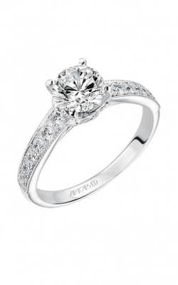 ArtCarved Vintage Engagement ring 31-V203ERW-E product image
