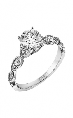 ArtCarved Contemporary Engagement Ring 31-V289ERW-E product image