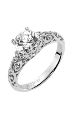 Artcarved PEYTON Diamond Engagement Ring 31-V284FRW-E