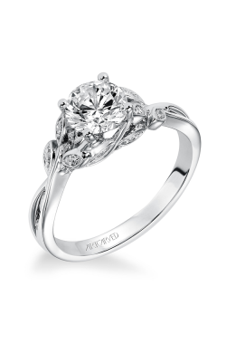 ArtCarved Contemporary Engagement ring 31-V317ERW-E product image