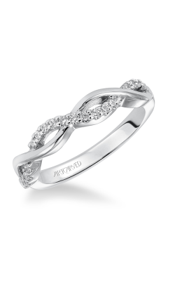 ArtCarved Contemporary Wedding Band 31-V319W-L product image