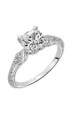 ArtCarved Vintage Engagement Ring 31-V489FUW-E product image