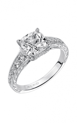 ArtCarved Vintage Engagement ring 31-V491HUW-E product image