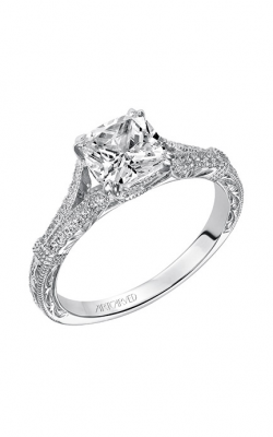 ArtCarved Vintage Engagement Ring 31-V494GUW-E product image