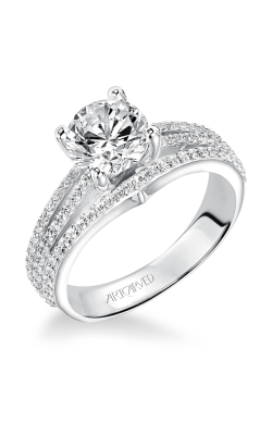 Artcarved ELIZABETH Diamond Engagement Ring 31-V210FRW-E
