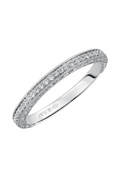 ArtCarved Vintage Wedding Band 31-V521HRW-L product image