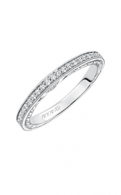 ArtCarved Vintage Wedding Band 31-V628W-L product image