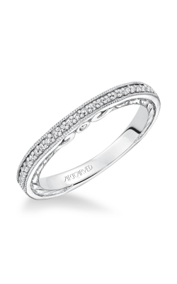 ArtCarved Vintage Wedding Band 31-V629W-L product image