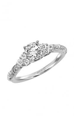 ArtCarved Vintage Engagement Ring 31-V105ERW-E product image
