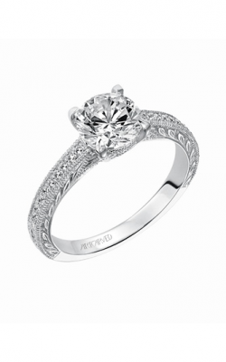 ArtCarved Vintage Engagement Ring 31-V490FRW-E product image