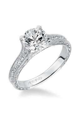 ArtCarved Vintage Engagement Ring 31-V511FRW-E product image