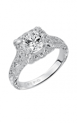 ArtCarved Vintage Engagement Ring 31-V516FRW-E product image